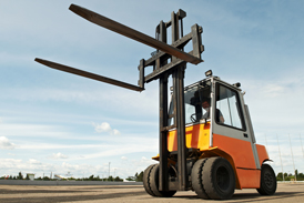forklift accident construction site injury lawyer